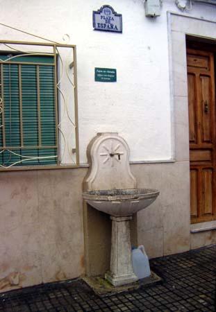 Fuente de la Plaza España