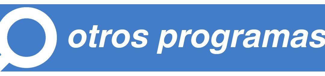 Otros programas de empleo