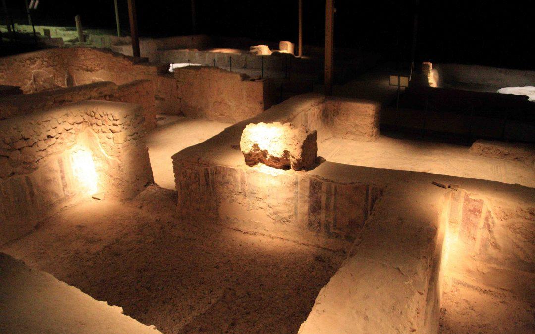 Visitas nocturnas a la villa romana