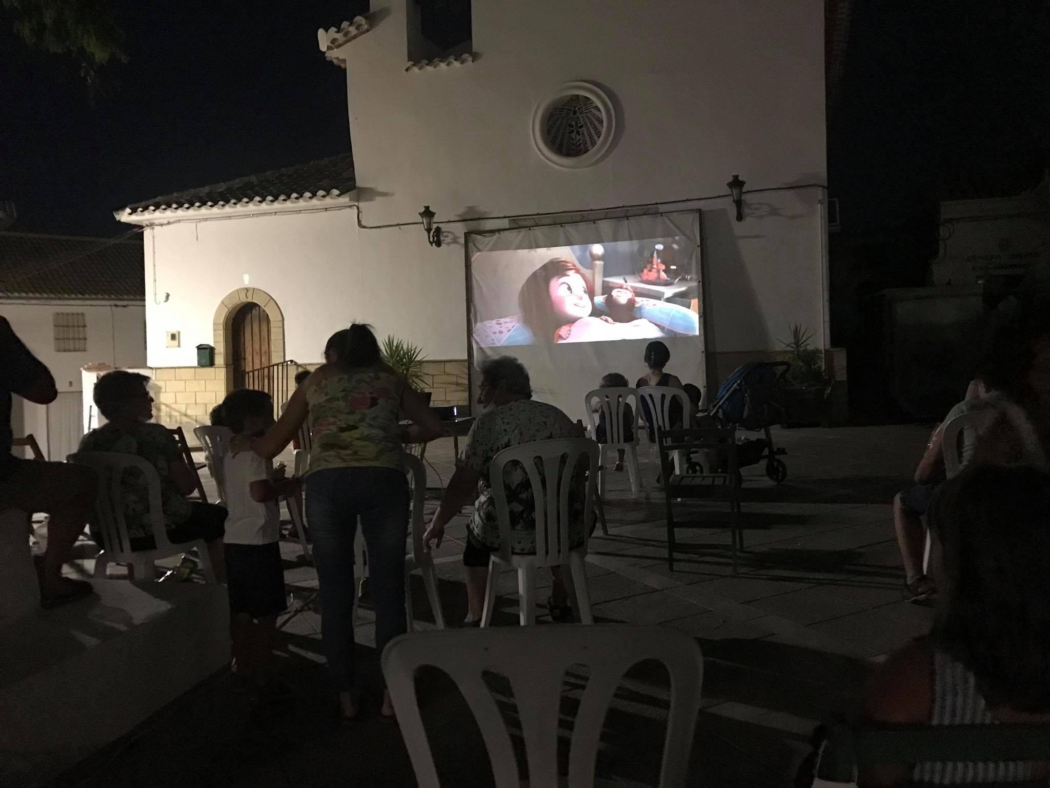 Cine Al Fresco en Sileras 1