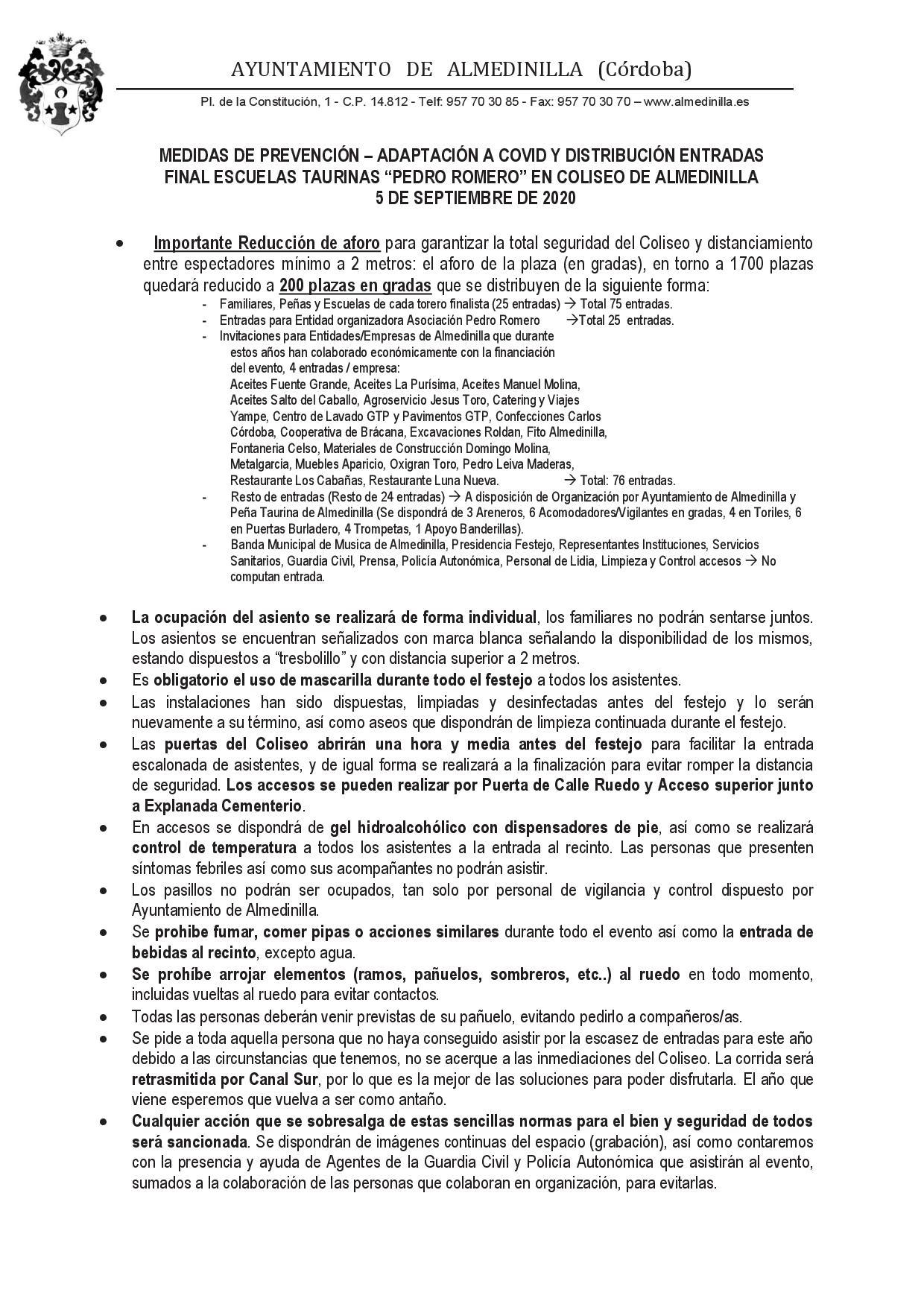 Medidas preventivas Covid19 final escuelas taurinas 1