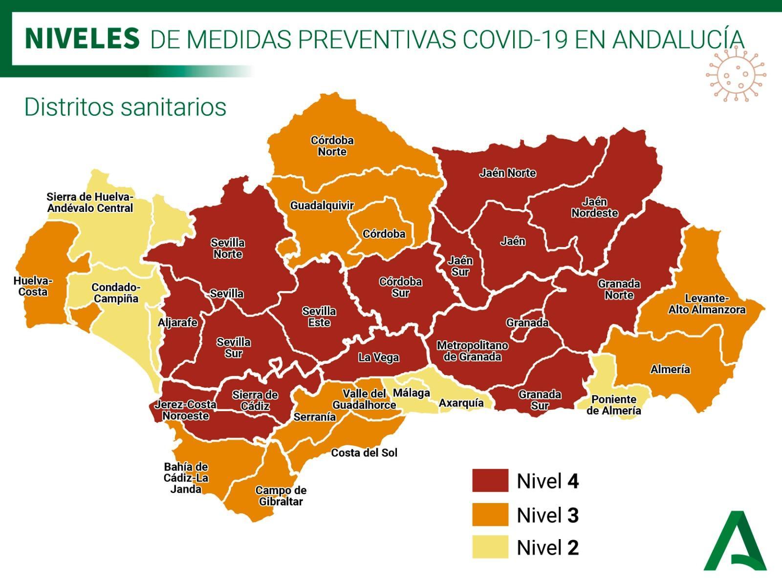 Medidas preventivas Covid-19 por la Junta de Andalucía  1