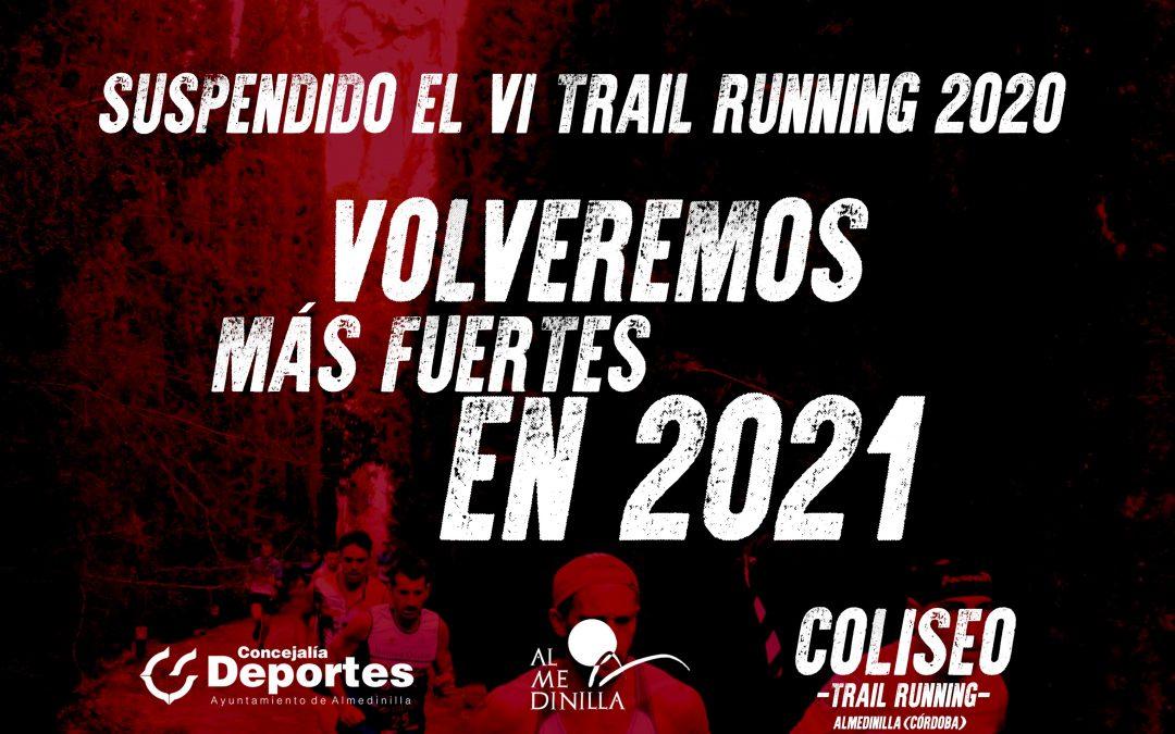 Suspendida la VI edición del Trail Running de Almedinilla