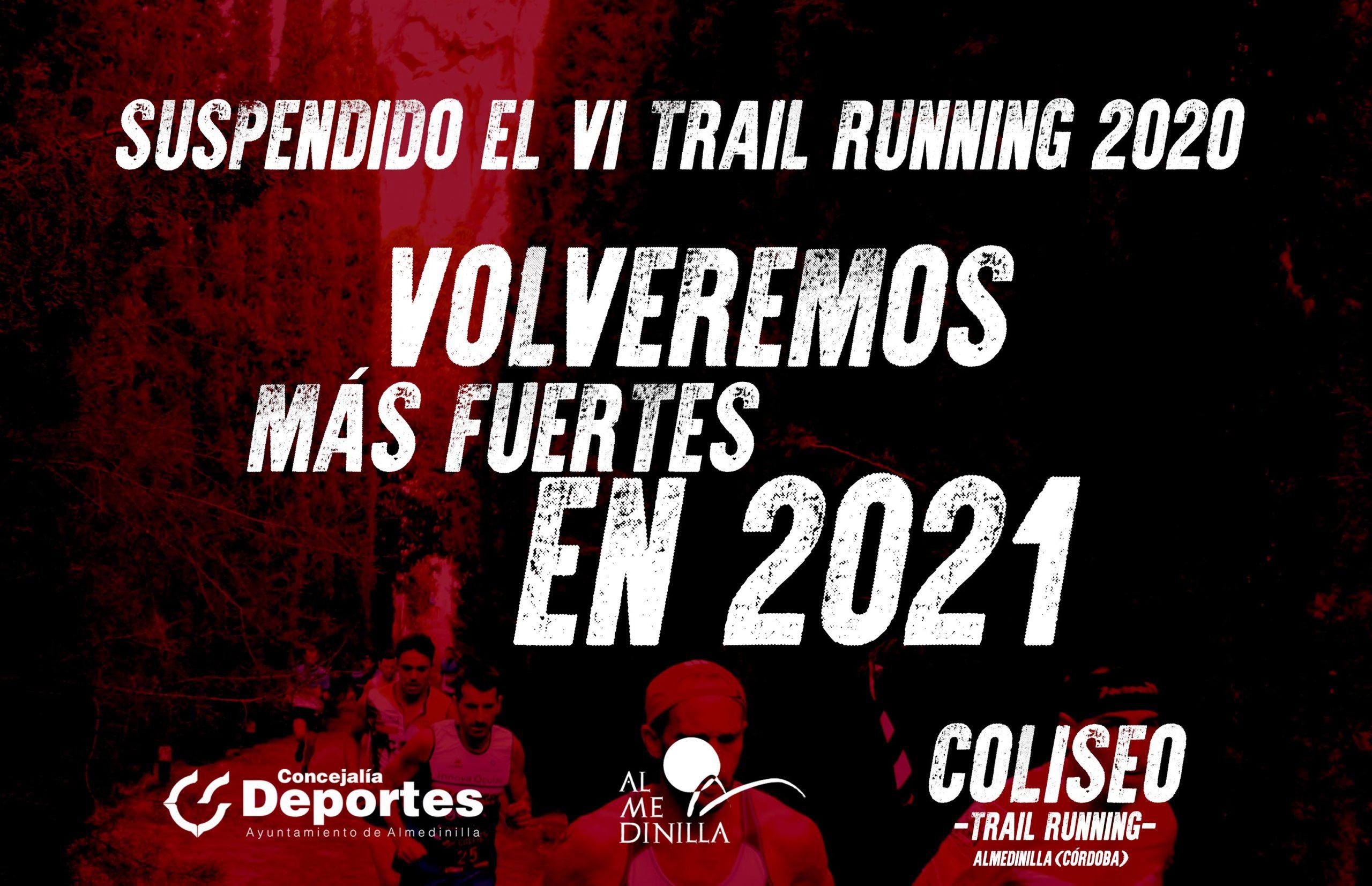 Suspendida la VI edición del Trail Running de Almedinilla 1