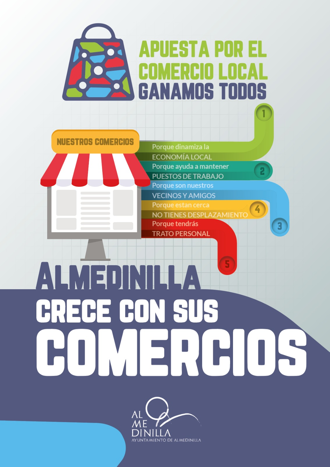 Campaña de apoyo al comercio local en Almedinilla 1