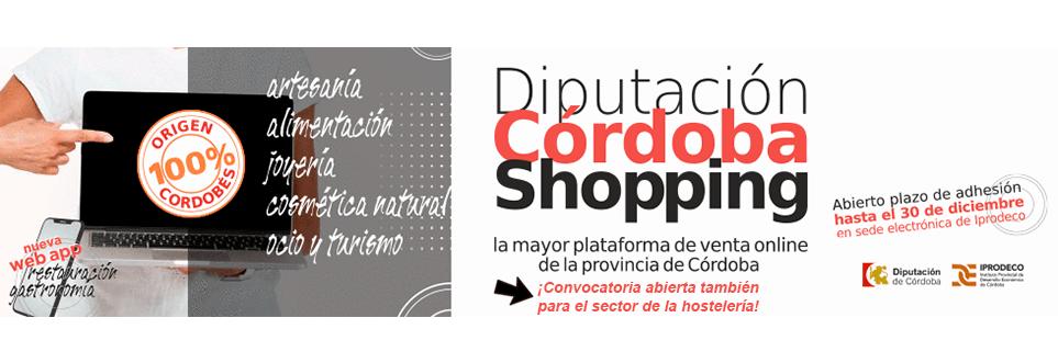 Abierto el período de adhesión de empresas a la plataforma Córdoba Shopping 1