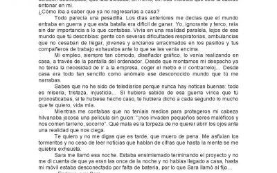 """Fallo del Jurado del VII Certamen Literario """"Universo de cartas de amor y/o desamor"""" 2021"""