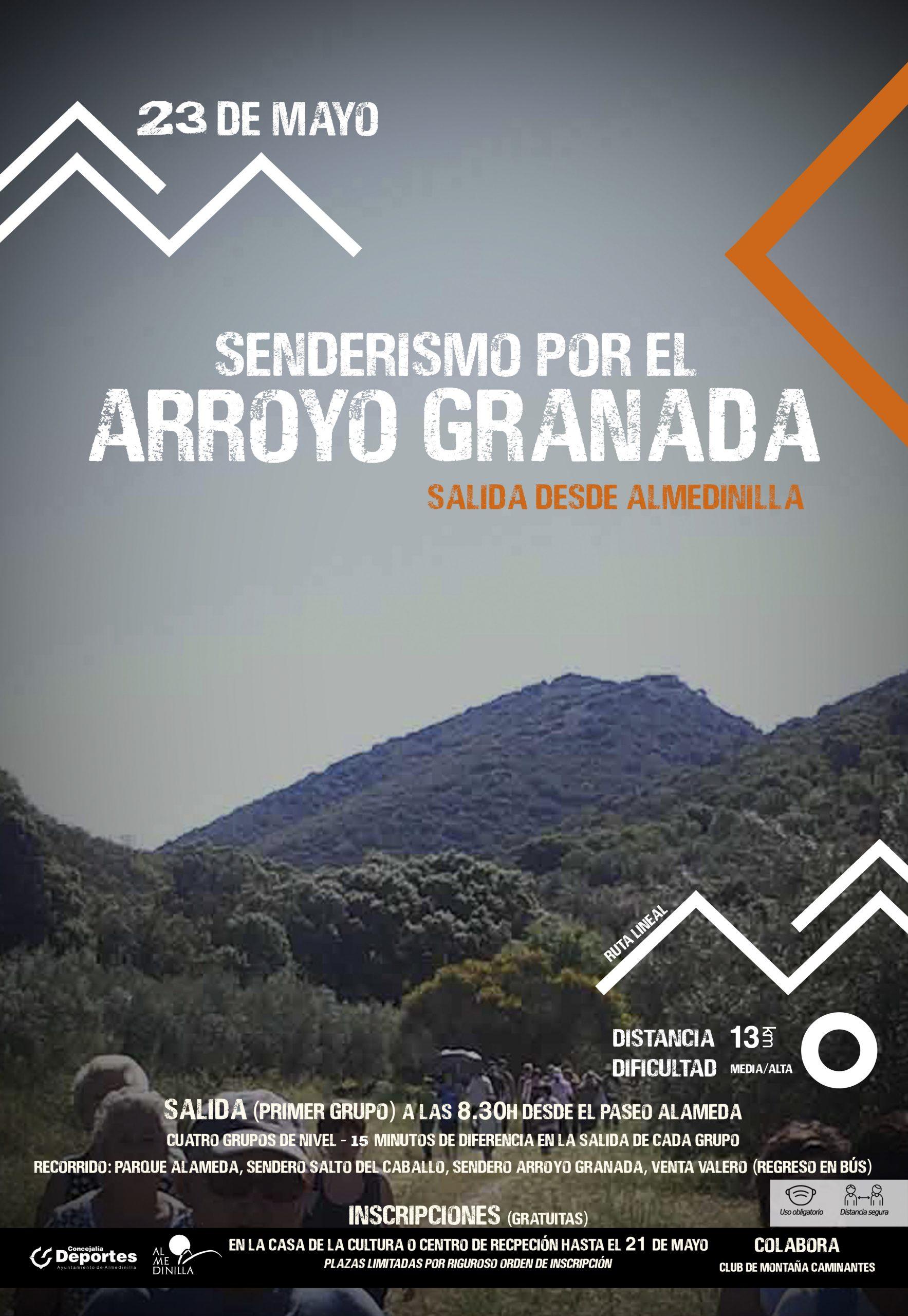 Senderismo Arroyo Granada