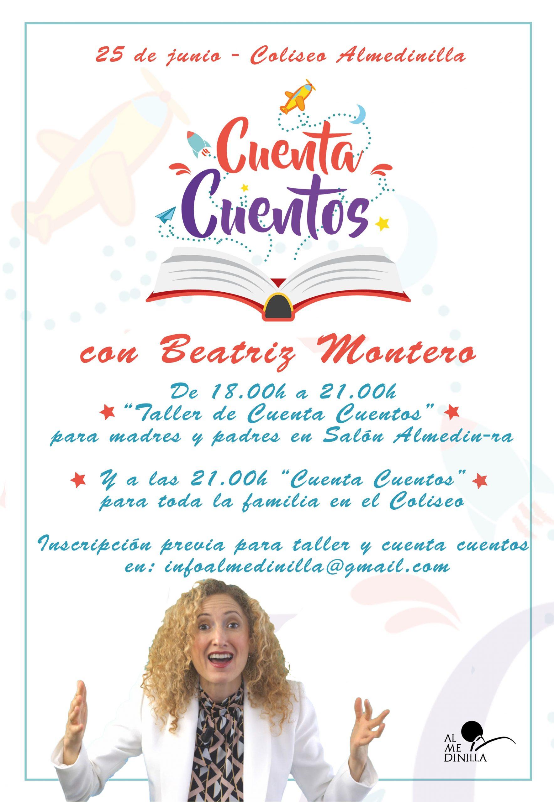 Cuenta Cuentos con Beatriz Montero