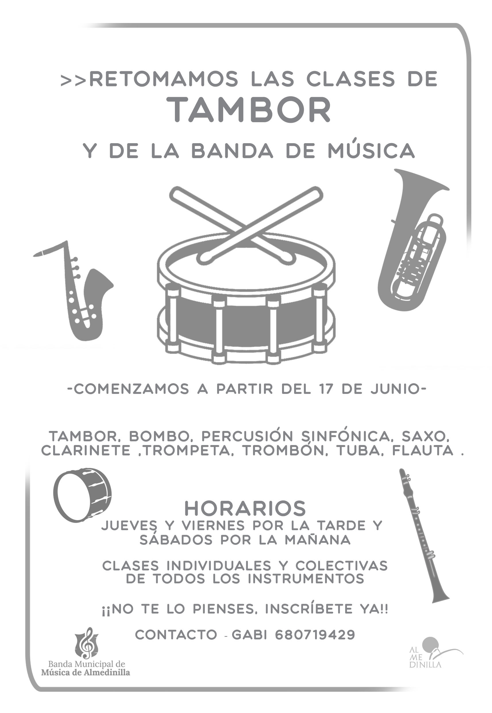 clases tambor banda