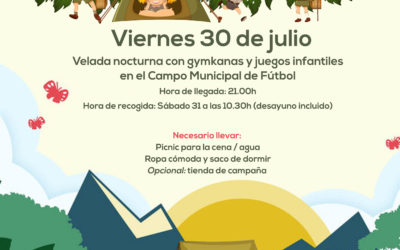 Acampada infantil en Almedinilla