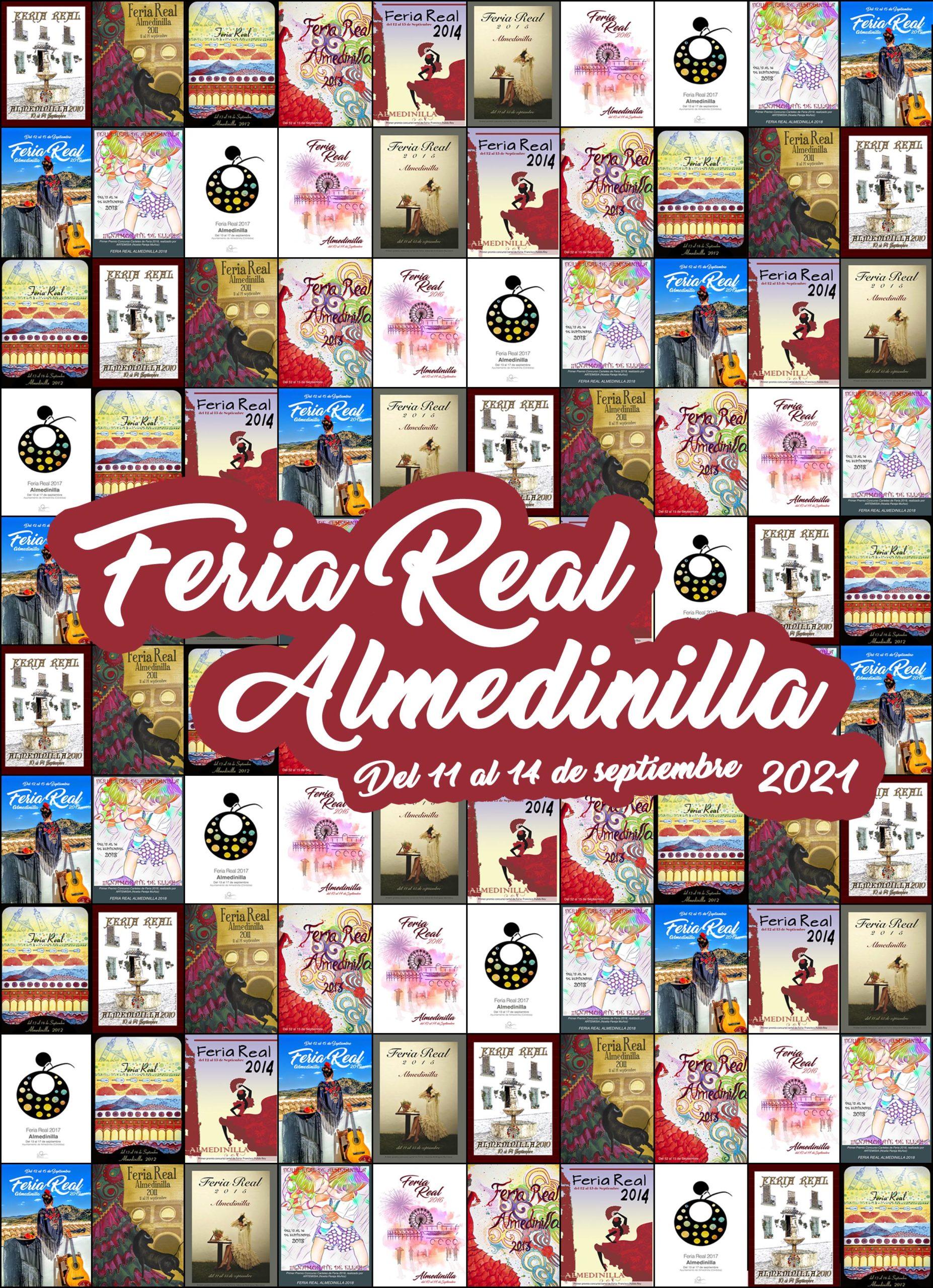 Cartel Feria Real Almedinilla 2021